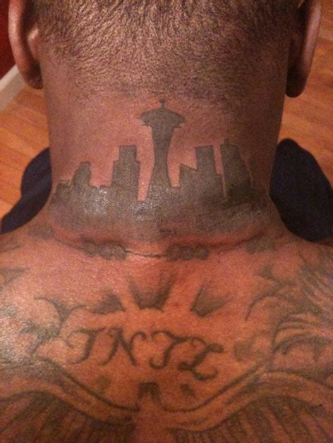 nate robinson tattoos nate s a tribute to his hometown seattle