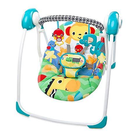 bright starts jungle swing bright starts safari smiles portable swing bed bath