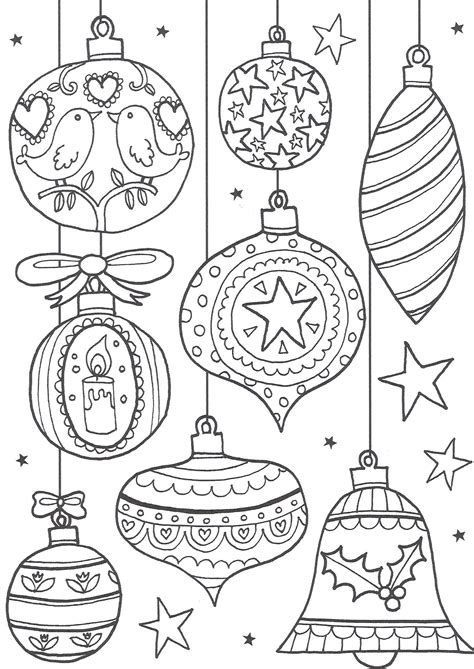 Printable Christmas Pictures For Adults | free christmas colouring pages for adults the ultimate