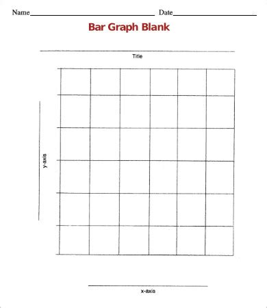 blank bar graph template free worksheets 187 blank pictograph template free math