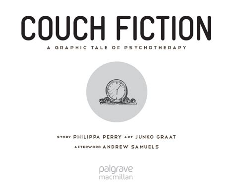 couch fiction a graphic novel of psychotherapy