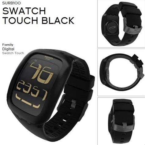 Jam Tangan Swatch Digital jual jam tangan unisex digital swatch black hitam