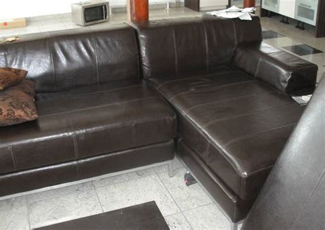 repair split leather sofa how to clean care protect pull up waxed and oiled
