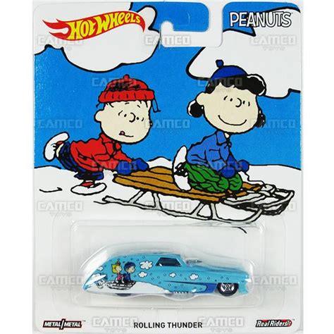 Hotwheels Snoopy Hwc059 rolling thunder snoopy 2016 wheels pop culture e