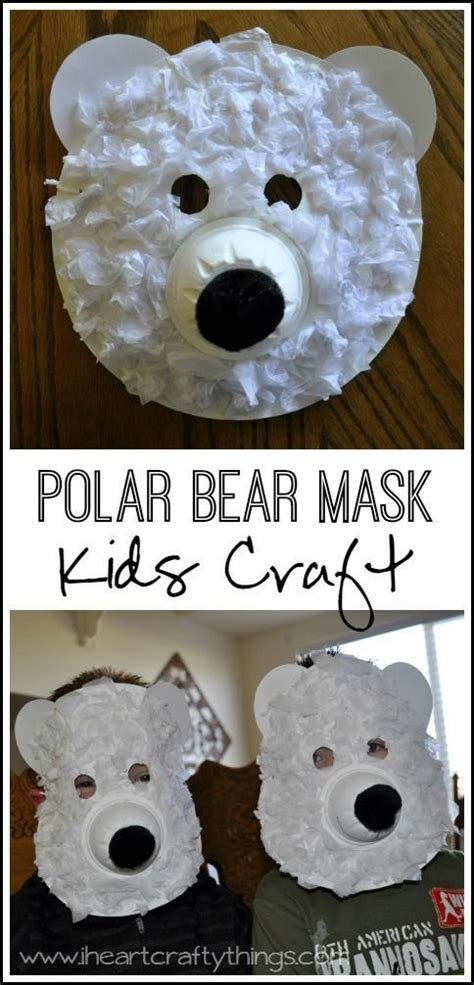 Crafts Arctic Animals And Paper On - arctic animals preschool and december on