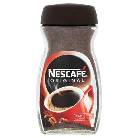 Nescafe Coffee nescafe original instant coffee 200g coffee drinks drinks iceland