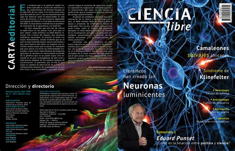 revista ciencia libre  behance