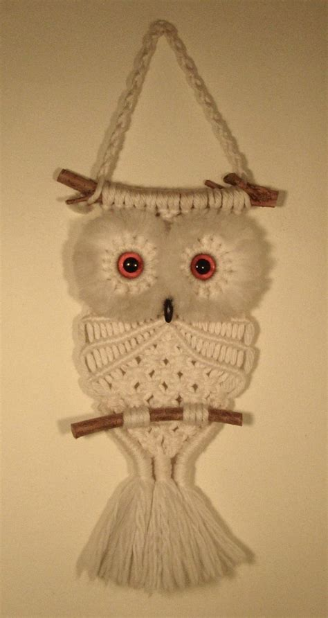 Macrame Crochet Patterns - best 25 macrame owl ideas on owl necklace