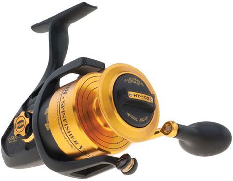 Penn Reel Spinning Spinfisher Ssv 7500 Black Gold penn ssv6500bls spinfisher v bail less spinning reel