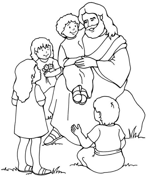 children s coloring pages of jesus 1152 best jesus the children images on