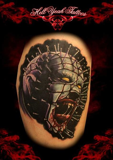 hellraiser tattoo designs hellraiser by hellyeah tattoos