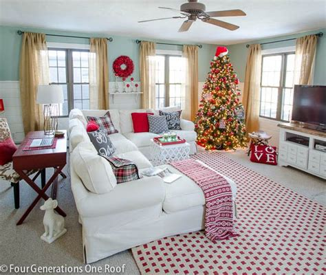 how to decorate a home for christmas 1 of 1 our house gorgeous christmas home tour 2014 part 1 christmas