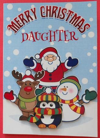 merry christmas daughter santa friends cup craftsuprint