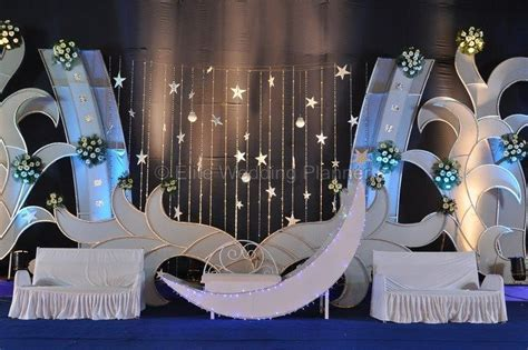 Moon Theme Wedding Stage Decoration   wedding decor
