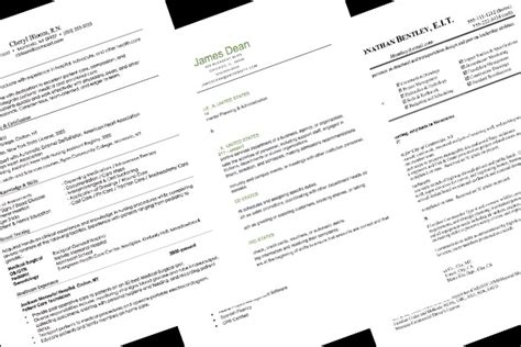 resume format guide resume format guide