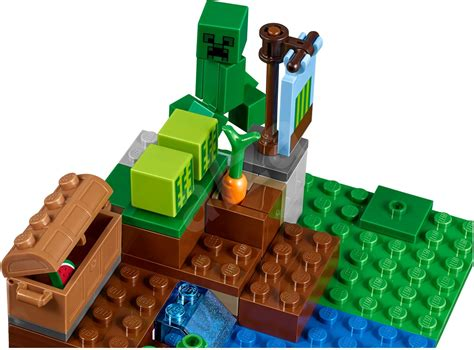 Lego 21138 Minecraft The Melon Farm lego minecraft 21138 the melon farm building kit alzashop