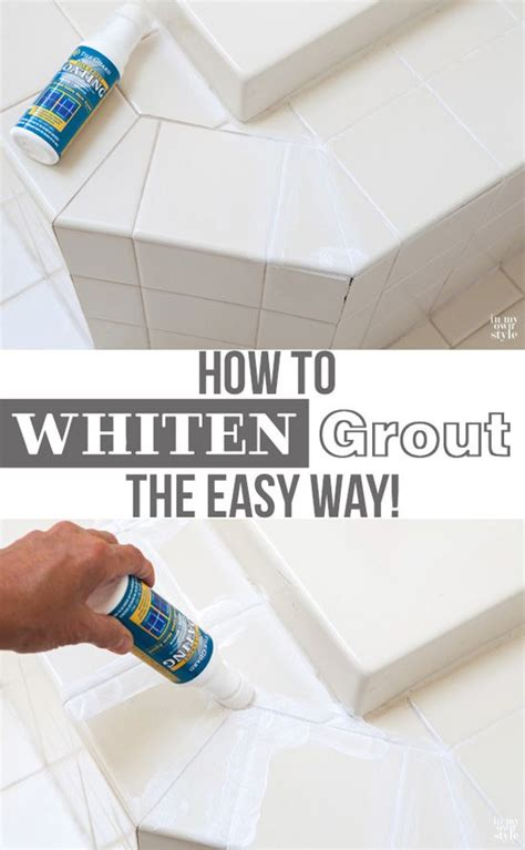 how to clean white grout on bathroom floor the fast easy way to whiten tile grout tile grout and