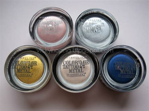 eye tattoo maybelline review review and swatches maybelline eye studio color tattoo