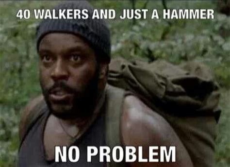 Tyreese Walking Dead Meme - lost surviving the dead