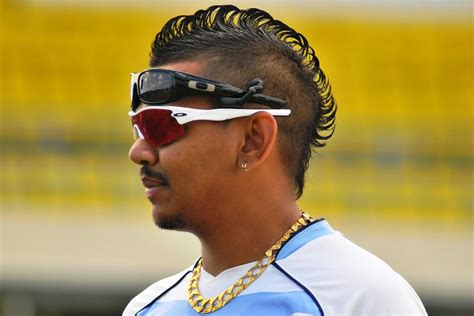 hairstyles of indian cricketers sunil narine new hair styles photos 2013 all cricket stars