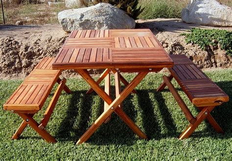 Folding Picnic Table Bench Folding Picnic Table Bench Free Plans Home Design Ideas