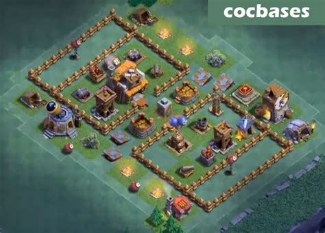 layout coc town hall 5 top 20 best builder hall 5 base new 3000 cups