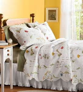 embroidered emily floral quilt set quilts plow hearth
