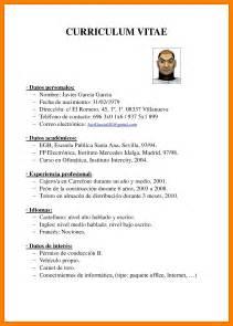 Plantillas De Curriculum Vitae En Formato Pdf 6 Curriculum Vitae Formato Pdf Teller Resume