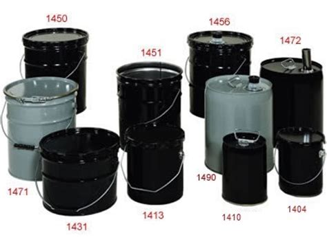 Ember Pail 1 5 Gallons steel pails