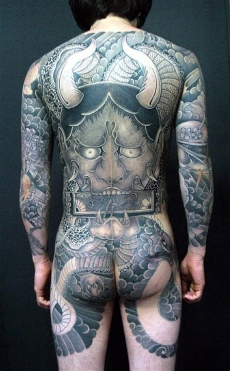 pure demon japanese yakuza tattoo idea best tattoo ideas