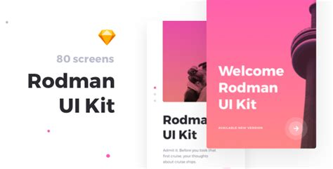 themeforest ui kit rodman mobile ui kit by robertmayer themeforest