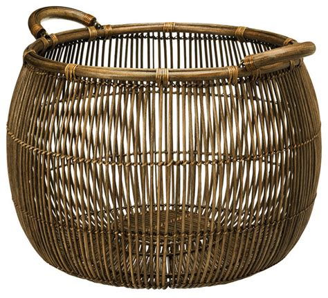 large basket for storing throw pillows open weave rattan storage basket contemporary baskets