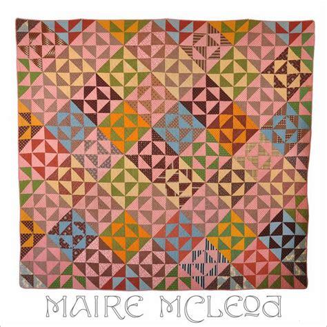 antique c1860 mosaic patch quilt pattern antique