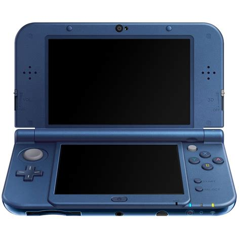 new 3ds console nintendo new 3ds xl bleue 2205932 achat vente
