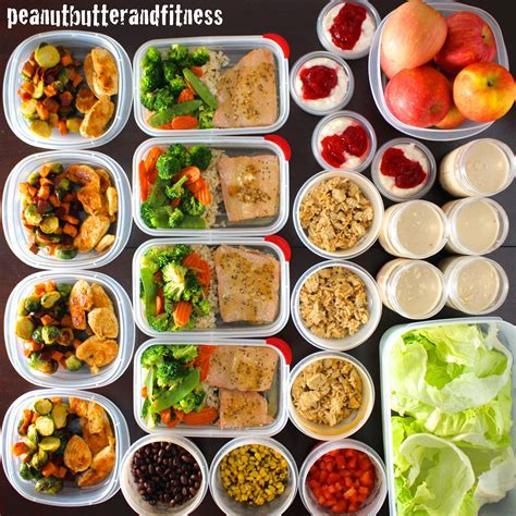 food prep meals meal prep week of february 9th peanut butter and fitness