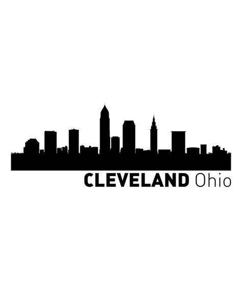 cleveland skyline tattoo cleveland skyline painting designs
