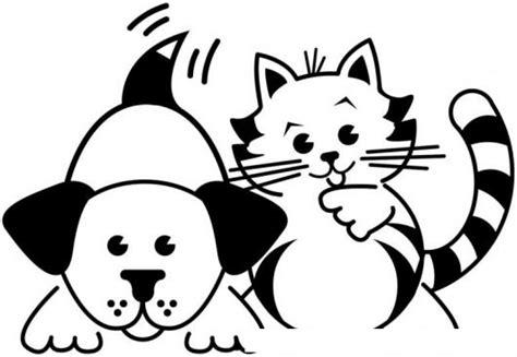 28+ [inspirador dibujos para colorear perros y gatos]