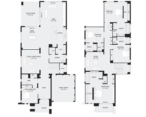 metricon homes floor plans monarch 58 new home floor plans interactive house plans