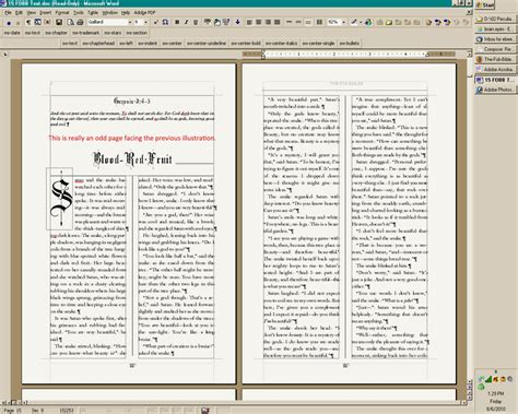 13 best photos of book layout microsoft word free word