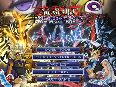 download game mod yu gi oh yu gi oh power of chaos hatem s mods 2013