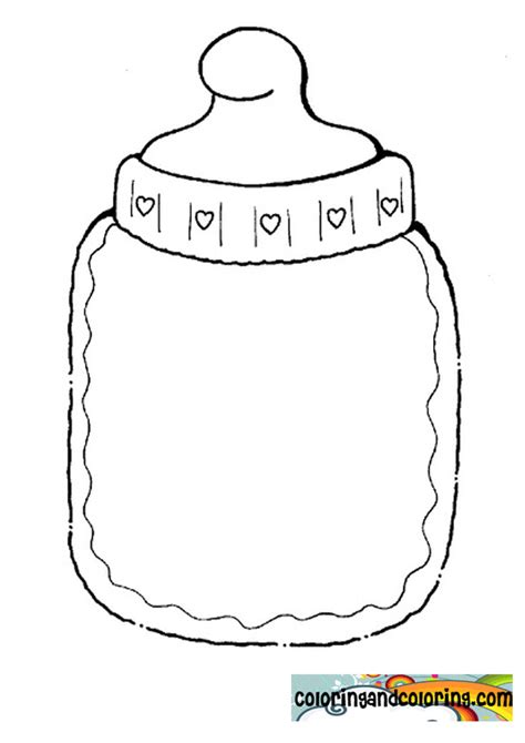 coloring pages baby items printable coloring pages of baby items murderthestout