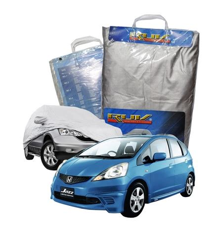 Jazz Lama Silver Coating Cover Mobil Sarung Mobil Selimut Jazz 04 22 16 pinassotte