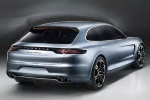 Porsche Upcoming Models New Porsche Panamera Sport Turismo Concept Previews Next
