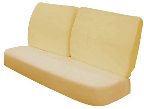 foam cushion for bench 1964 67 chevelle front bench seat foam cushions gt seat