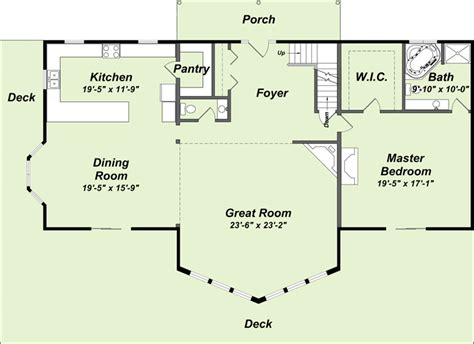 lake cottage floor plans image of whitworth house plan narrow lot house plans