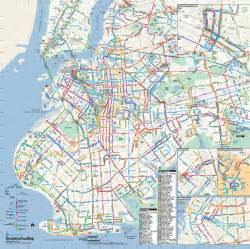 Brooklyn New York Map by Brooklyn New York Bus Map Brooklyn New York Mappery