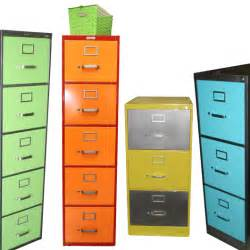 vintage retro steel vertical file cabinet customized