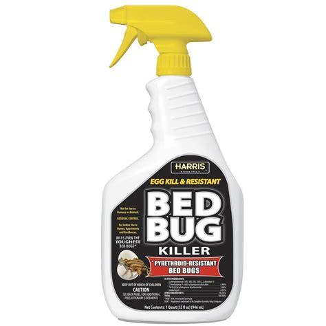 harris  oz ready   egg kill  resistant bed bug killer blkbb   home depot