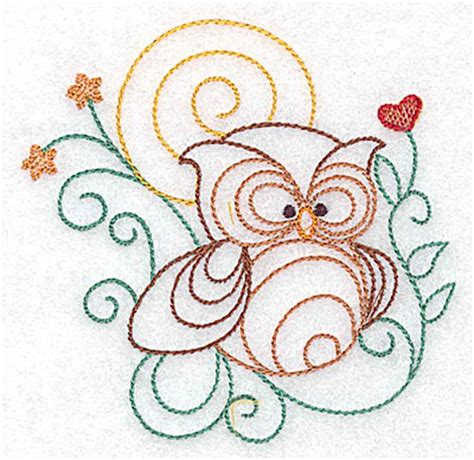 embroidery design outline owl outline embroidery design annthegran