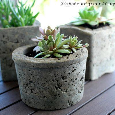 Fabriquer Pot De Fleur En Ciment by 17 Meilleures Id 233 Es 224 Propos De Pots En B 233 Ton Sur